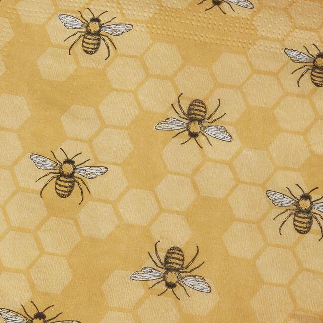 Honey Bees Napkins 20 Pack