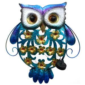 Solar Owl Wall Art