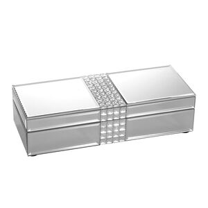 Cashel Living Square Diamond Slim Jewellery Box