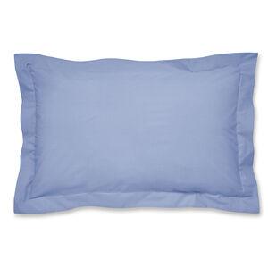 Luxury Percale Oxford Pillowcase Pair - Cornflower