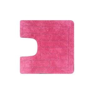 Cotton Brick Blush Pink Pedestal Mat 50cm x 50cm