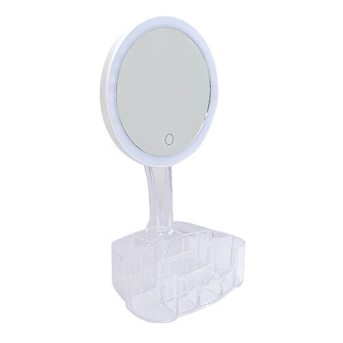 LED Smart Touch Circular Beauty Mirror