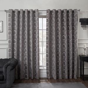 SHELBOURNE SILVER 66x72 Curtain