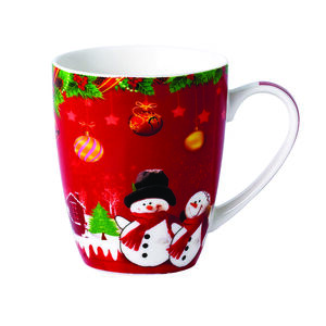 Love Christmas Snowmen With Hat Mug