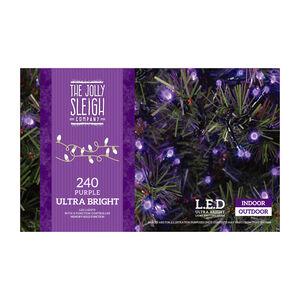 240 LED String Lights Purple