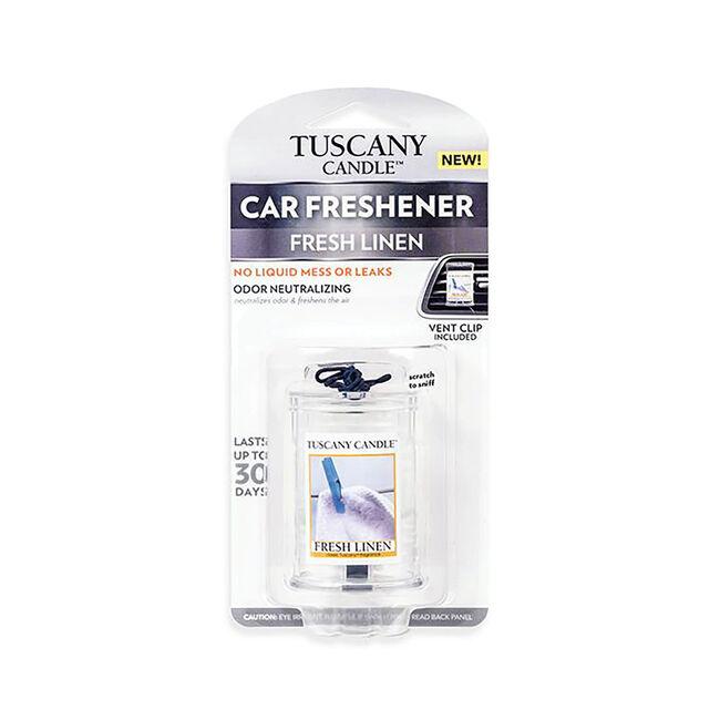 Tuscany Car Air Freshener Fresh Linen