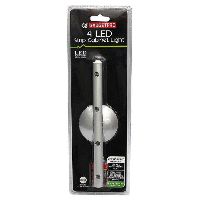 Gadgetpro 4 LED Strip Cabinet Light