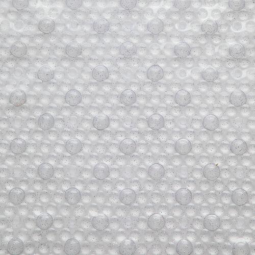 Sparkle Bath Mat 69cm x 39cm - Silver