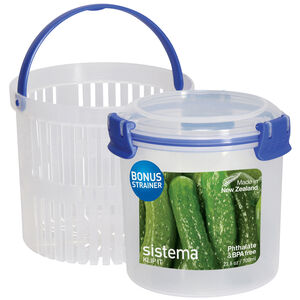Sistema Klip It 700ml Container with Strainer