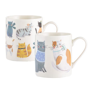 Cosy Cats Fine China Mug