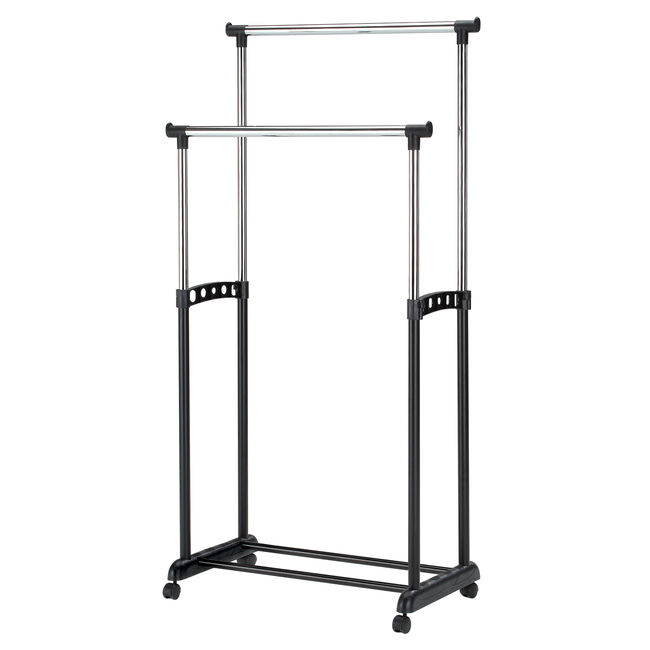 Double Bar Clothes Stand