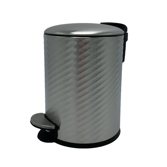 Spiral Embossed Bin 3L - Stainless Steel