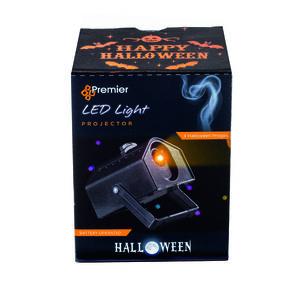 Halloween Orange LED Projector
