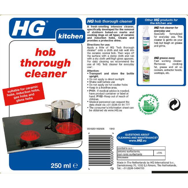 HG Ceramic Hob Cleaner 250ml