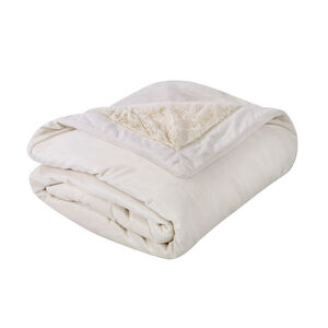 Nicole Day Luxury Cream Throw