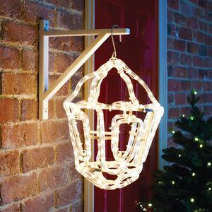 3D Hanging Lantern Rope Light