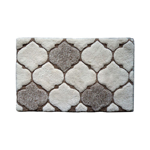 Trellis Natural Bath Mat 50x80cm