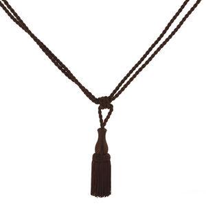 Elegance Small Rope Brown Tieback