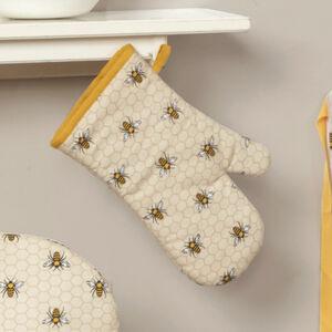 Honey Bees Single Oven Glove