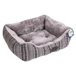 Premium Patterned Pet Bed - Small