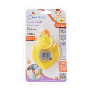 Dreambaby Duck Room and Bath Thermometer