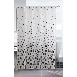 Peva Mosaic Shower Curtain