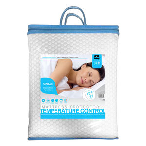 TEMP CONTROL WATERPROOF SINGLE Mattress Protector