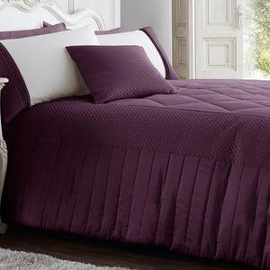 Harbron Plum Bedspread 220cm x 230cm
