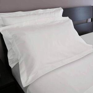 200TC Cotton Oxford Pillowcase Pair - White