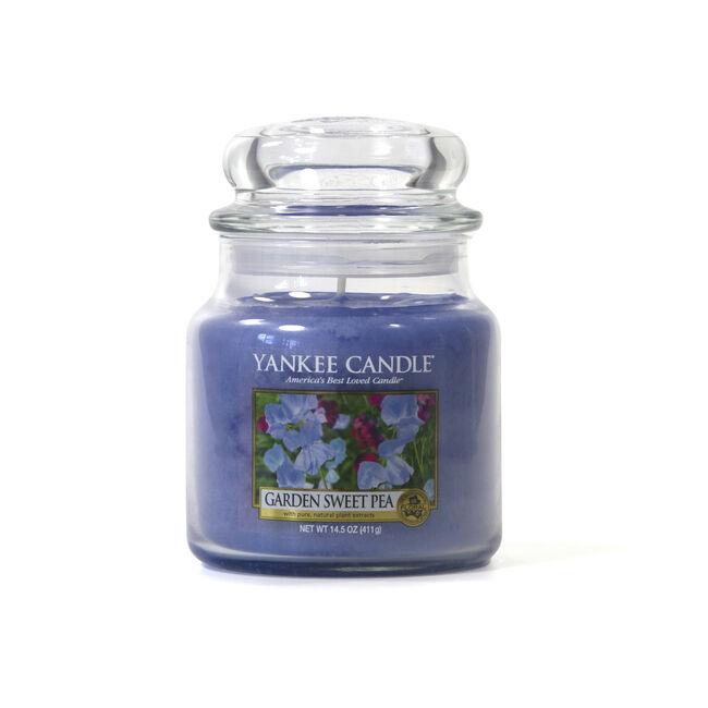 Yankee Garden Sweet Pea Medium Jar