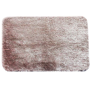 Supersoft Shiny Dusty Rose Bath Mat