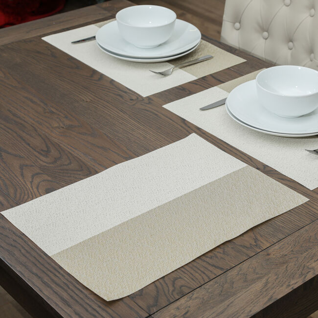 Blocks Gold Placemat