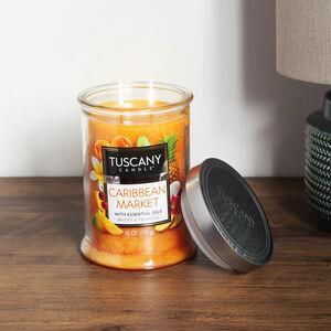 Tuscany 18oz Candle Caribbean Market