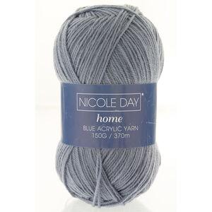 Nicole Day Acrylic Blue Yarn