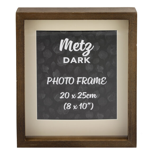 Metz Dark Photo Frame 8x10""