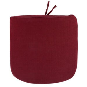 Woven Berry Kitchen Seat Pad