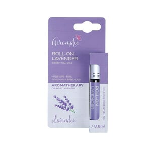 Aeromatic Roll On Lavender Essential Oils