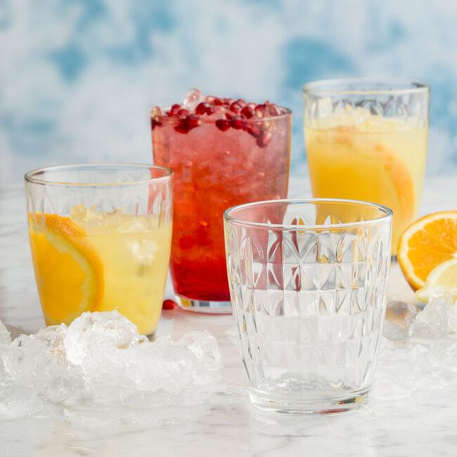 Essentials Jewel Mixer Glass - 4 Pack