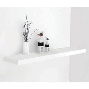 Bergen 80cm White Floating Shelf