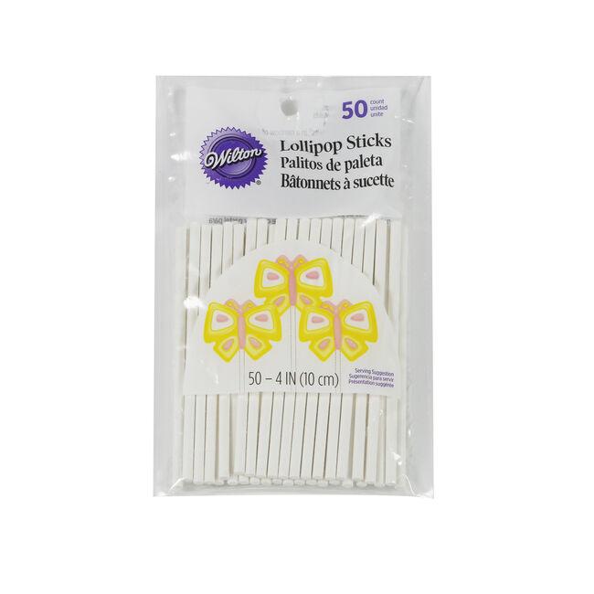 Wilton Lollipop Sticks 50Pk