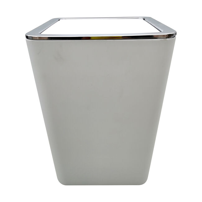 Madison Bathroom Bin 5L - White