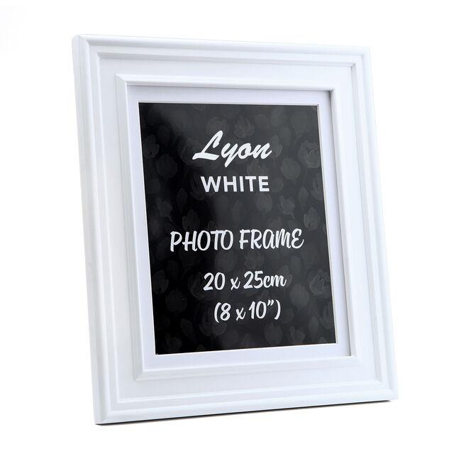 4x6 LYON WHITE Frame