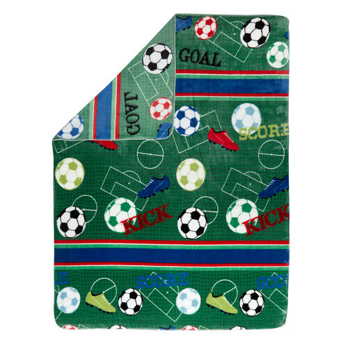 Football Frenzy Throw 120 x 150cm