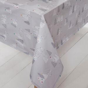 Snowy Penguins PVC Tablecloth 160 x 230cm