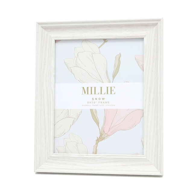 "Millie Photo Frame 8x10"" - Snow"