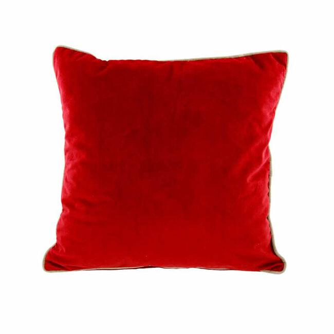 Naomi Cushion 58x58cm - Red