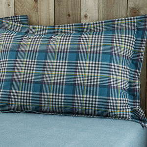 Brushed Cotton Rathruane Oxford Pillowcase Pair