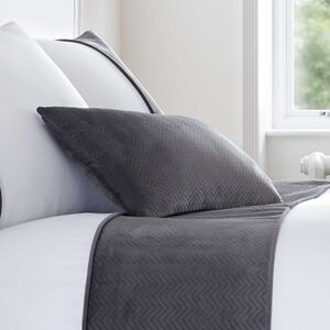 Ribeiro Velvet Cushion Grey 30 x 50cm