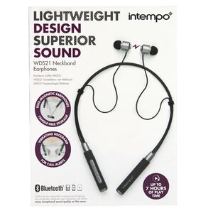 Intempo Bluetooth Neckband Earphones