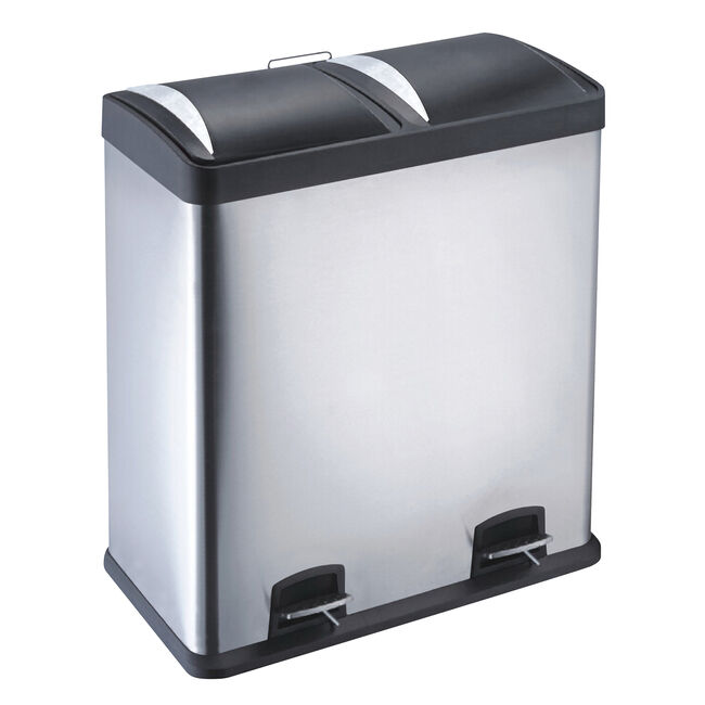 Double Recycling Bin 60 Litre